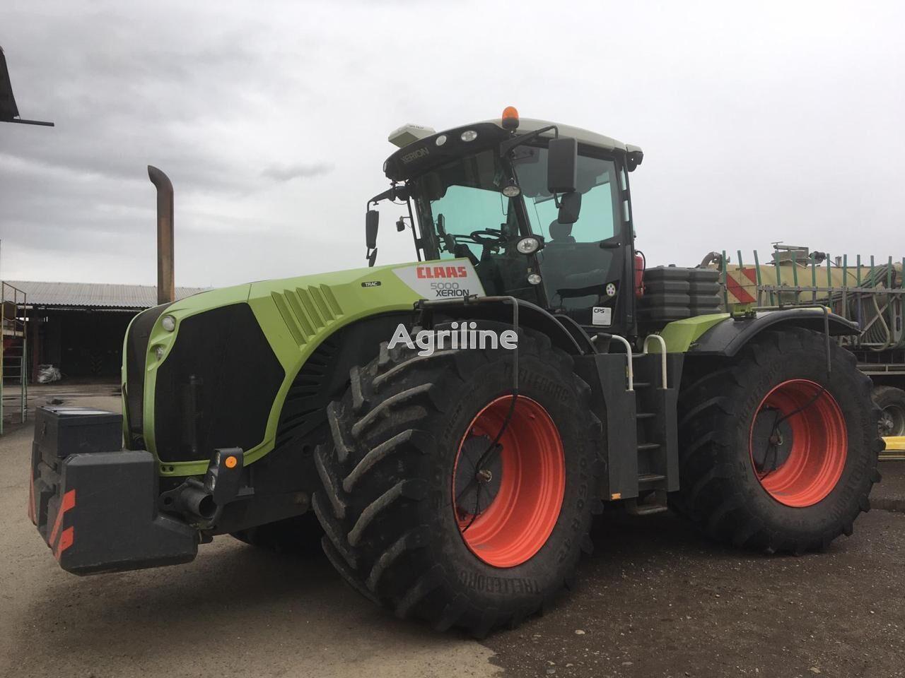 CLAAS Xerion 5000 tractor de ruedas