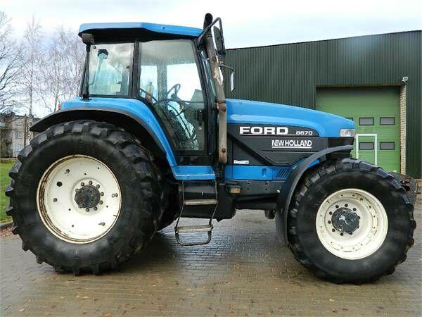 FORD 8670 tractor de ruedas