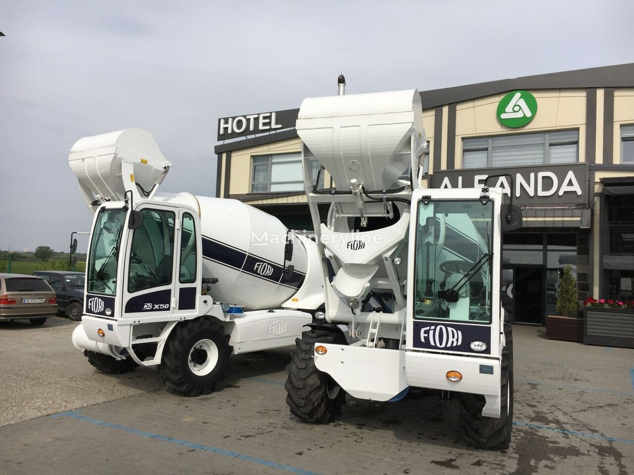 FIORI DB X50 camión hormigonera nueva