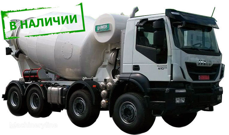 IMER Group LT 10.7H en el chasis IVECO Trakker 410 camión hormigonera nueva