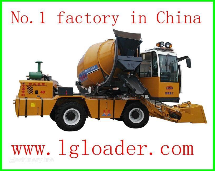 LUZUN self loading concrete mixer1 camión hormigonera nueva
