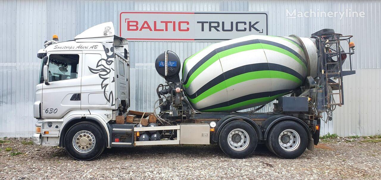 SCANIA R480 6x4 + 9m HYDRAULIC PIPE + EXTRA BOX camión hormigonera