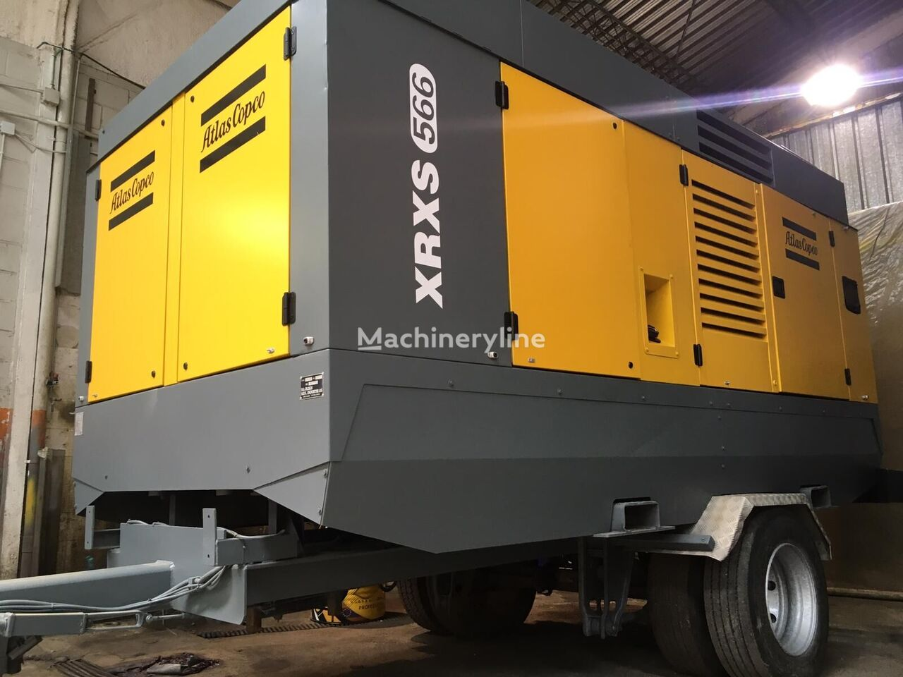 Atlas Copco XRXS 566 CD compresor