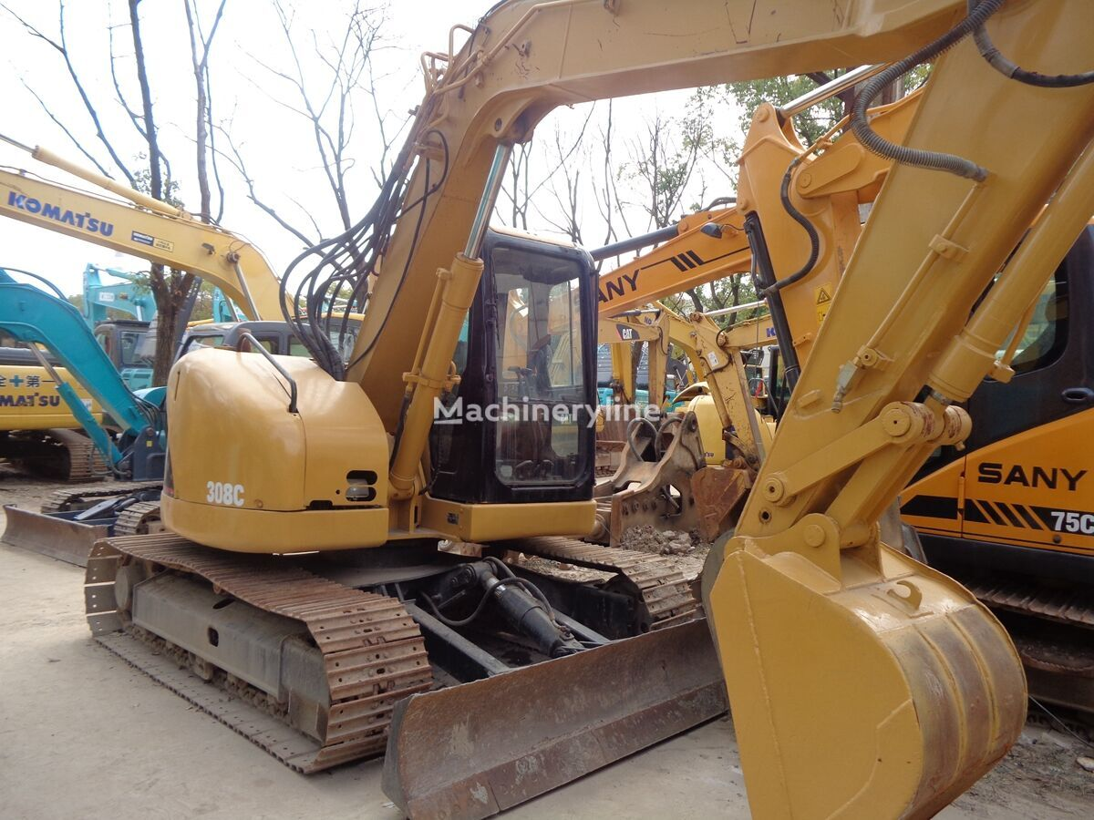 CATERPILLAR 308C excavadora de cadenas