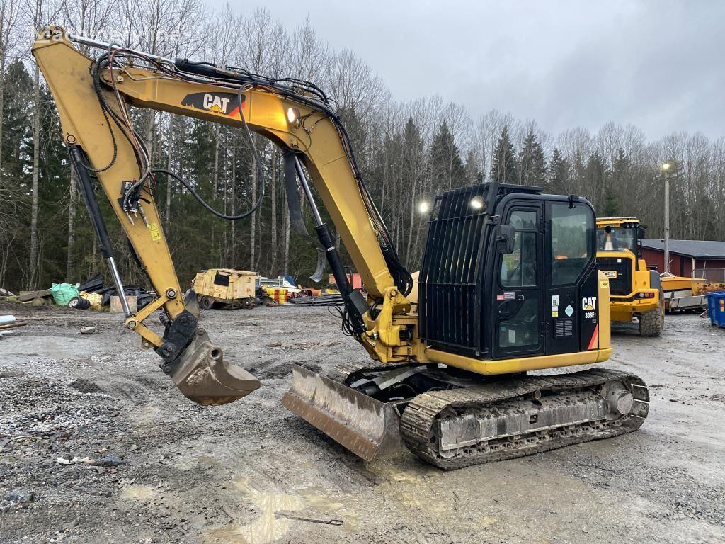 CATERPILLAR 308E2CR excavadora de cadenas