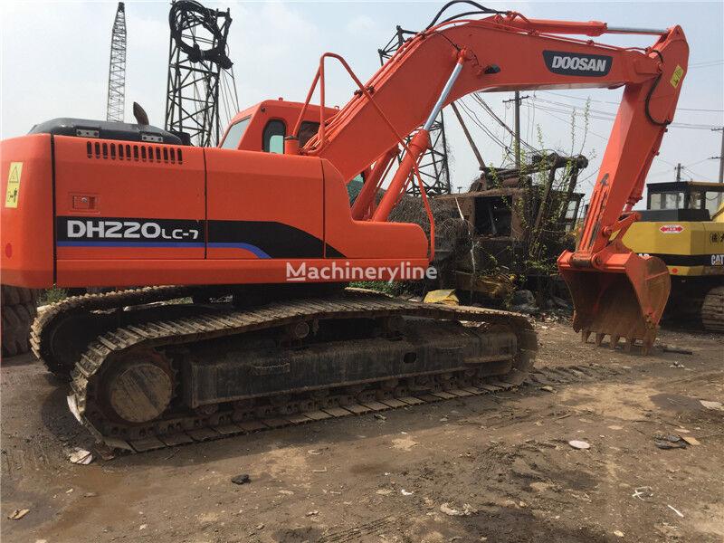 DOOSAN DH220LC-7 excavadora de cadenas