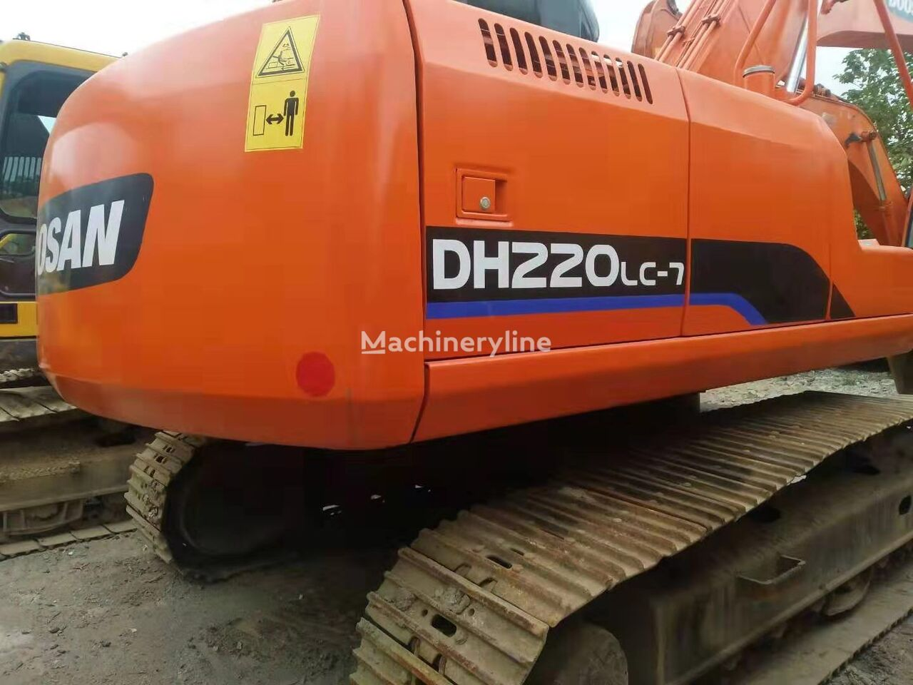 DOOSAN H220LC excavadora de cadenas