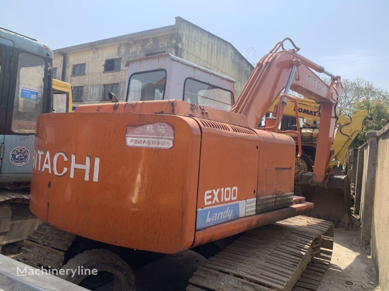 HITACHI EX100-1 excavadora de cadenas