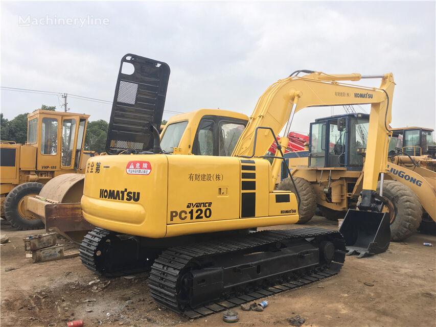 KOMATSU PC120-6 excavadora de cadenas