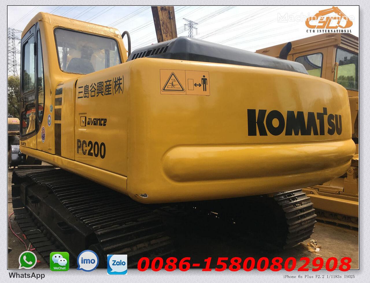 KOMATSU PC200-6 excavadora de cadenas