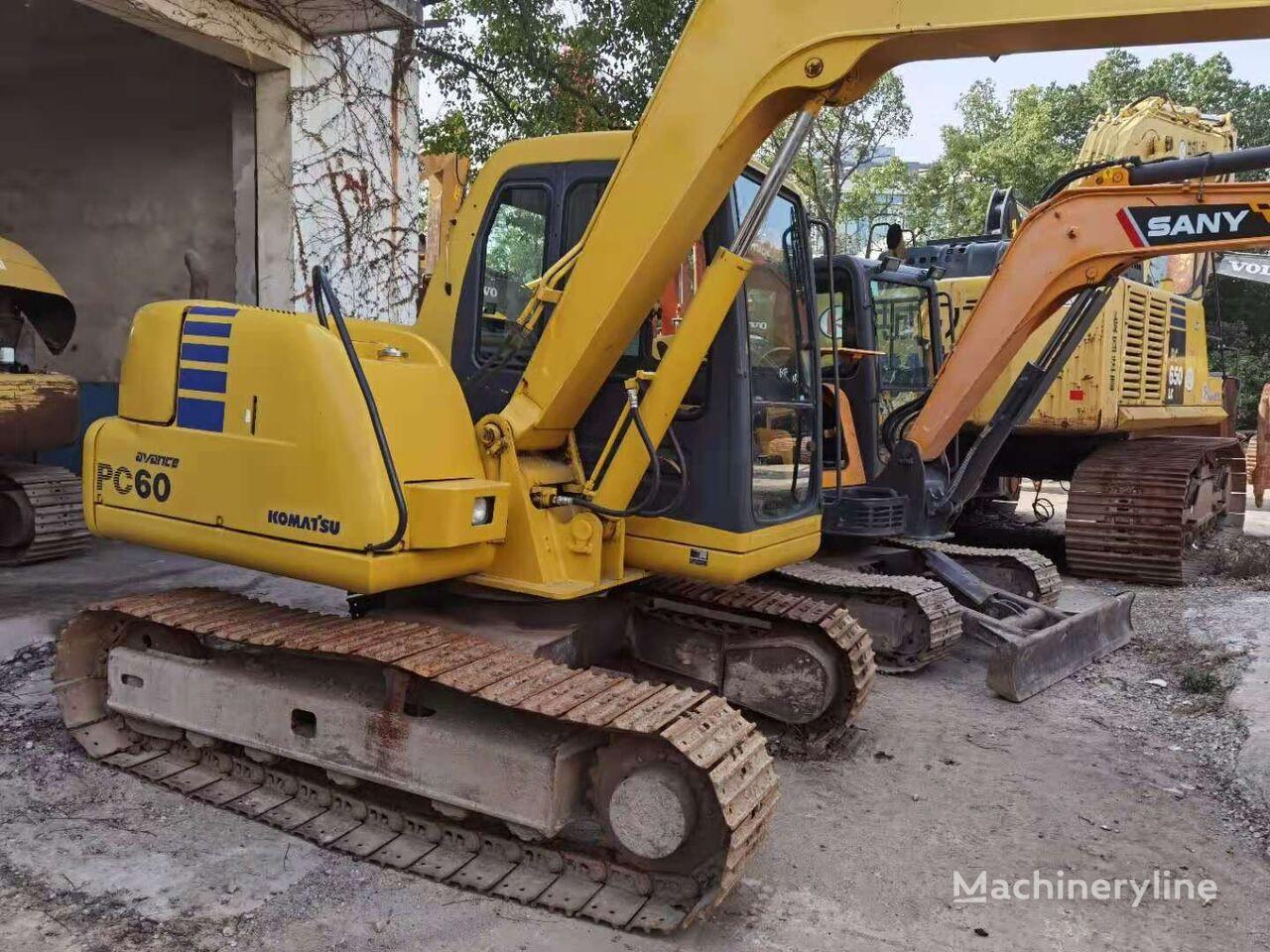 KOMATSU PC60 excavadora de cadenas