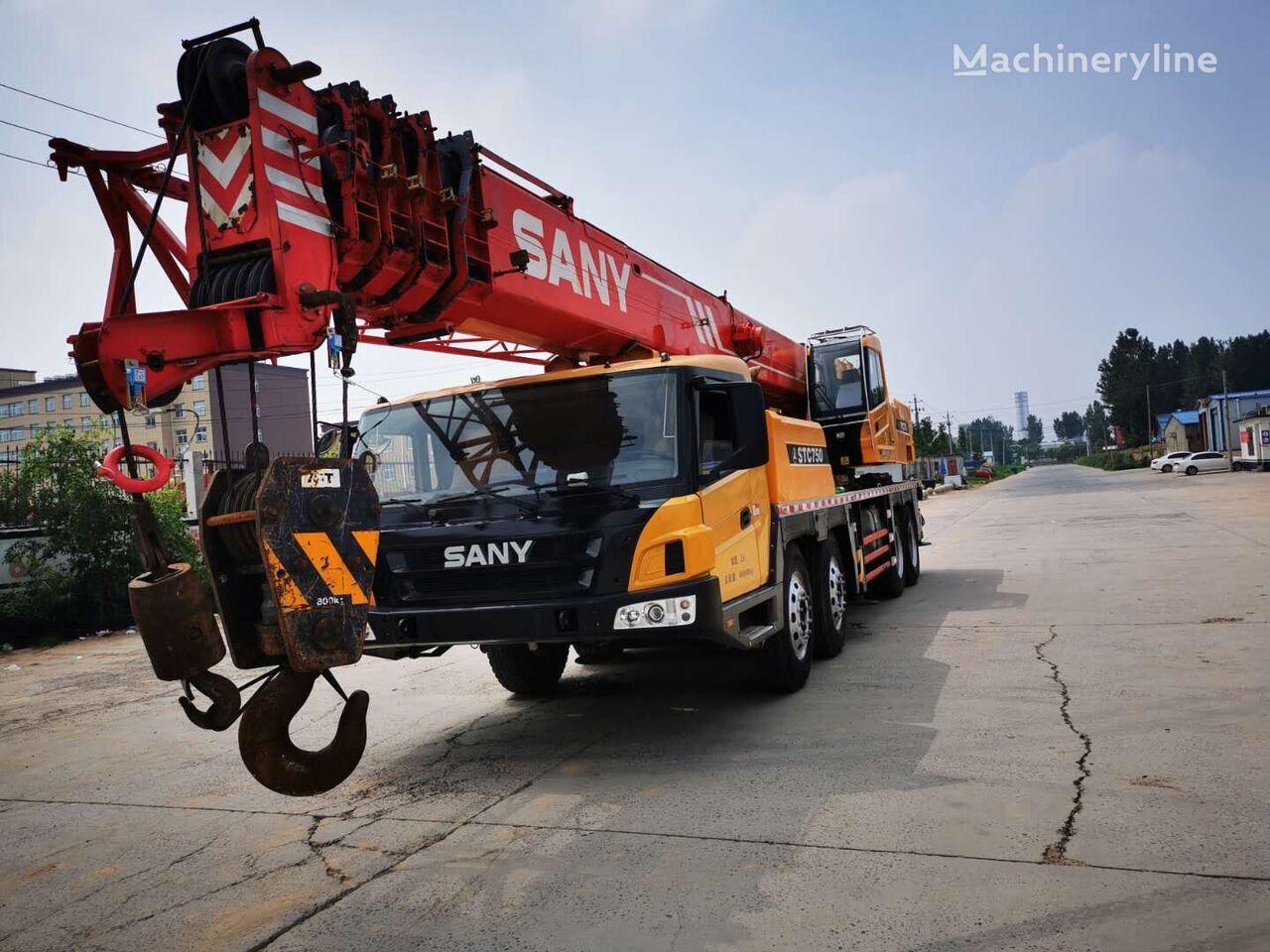 SANY STC750 used crane sany grúa móvil