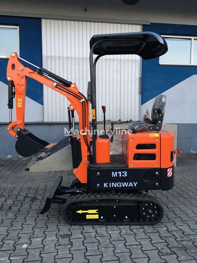 KINGWAY M13  miniexcavadora nueva
