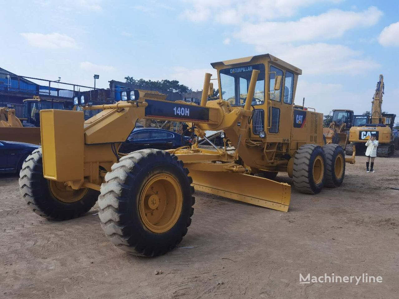 CATERPILLAR 140H  motoniveladora