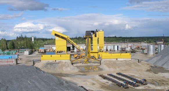 LINTEC CSD 3000 * 240 TO./H * planta de asfalto