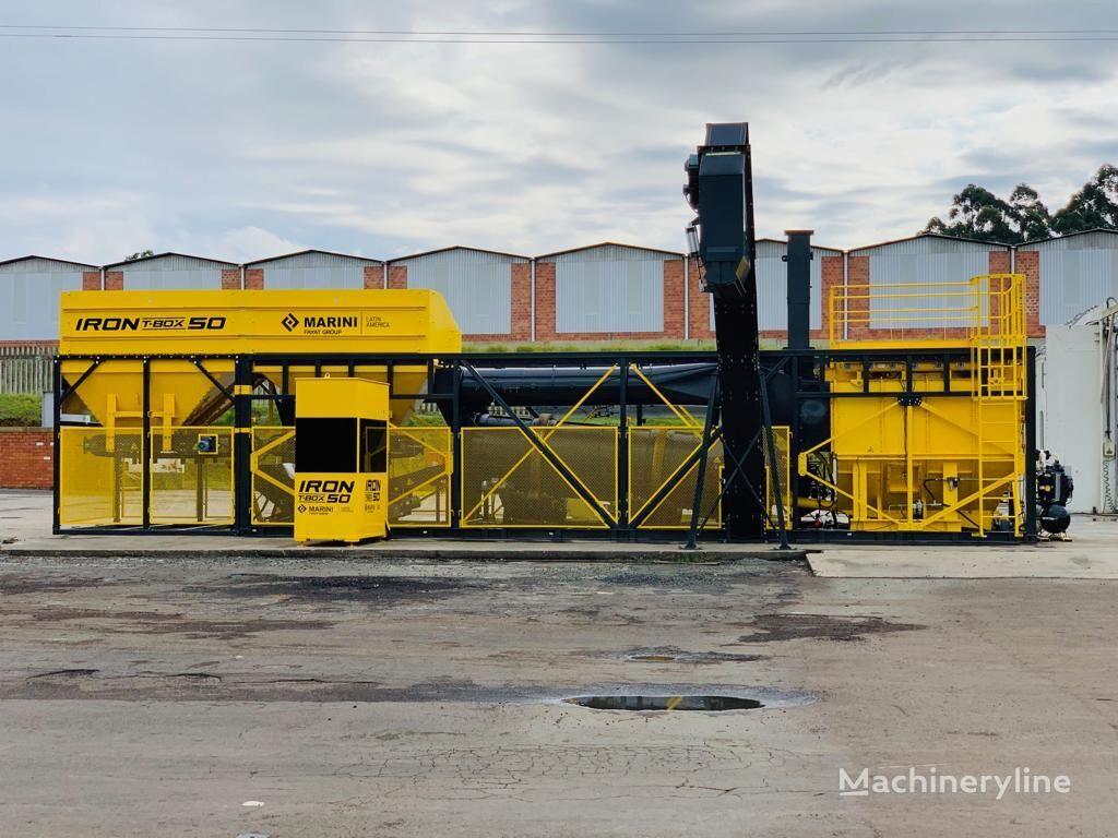 MARINI IRON T-BOX 50  planta de asfalto nueva