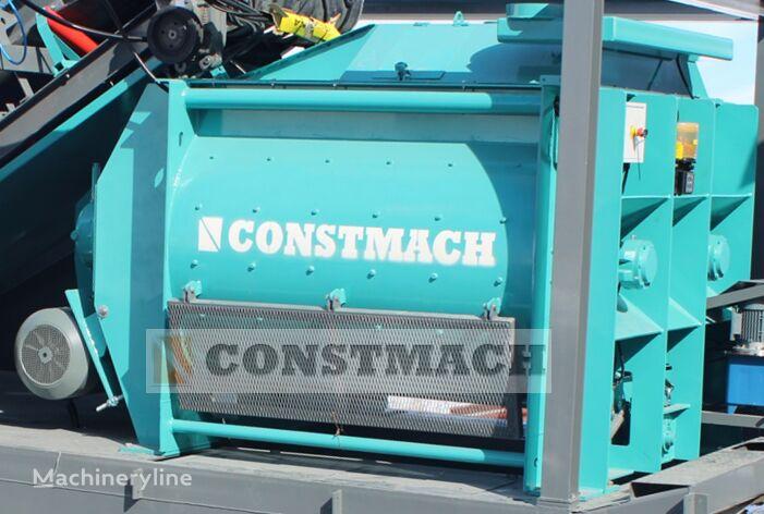CONSTMACH 2 m3 TWIN SHAFT MIXER, CALL NOW, READY FOR DELIVERY planta de hormigón nueva