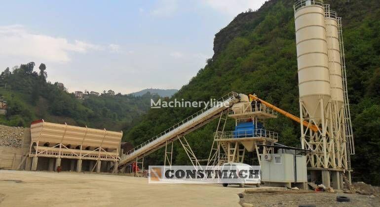 CONSTMACH DELIVERY FROM STOCK!, 100 m3/h CAPACITY FIX TYPE CONCRETE PLANT planta de hormigón nueva