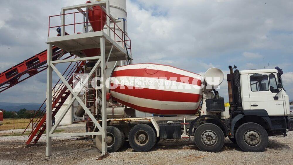 CONSTMACH DRYMIX 60 m3h  DRYTYPE CONCRETE PRODUCTION FOR SALE planta de hormigón nueva
