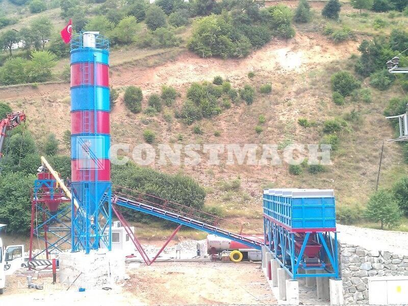 CONSTMACH DRYTYPE CONCRETE PLANTS FOR SALE - HIGH QUALITY AND HIGH CAPACIT planta de hormigón nueva