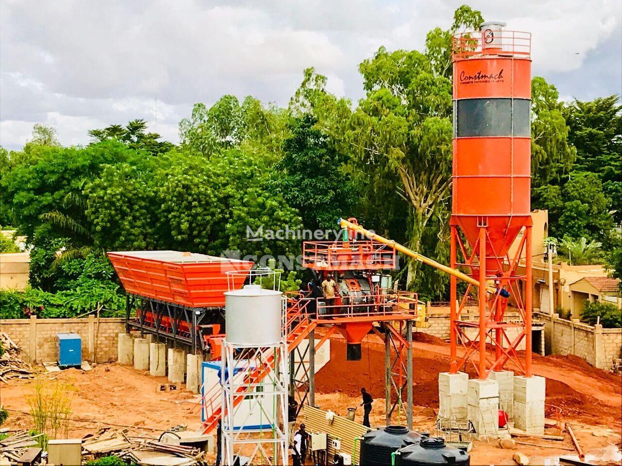 CONSTMACH FIX TYPE CONCRETE PLANT 60 m3/h, YEARS WARRANTY planta de hormigón nueva