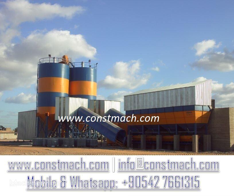 CONSTMACH STATIONARY 240 m3h FULL AUTOMATIC SYSTEM - HIGH CAPACITY HIGH QU planta de hormigón nueva