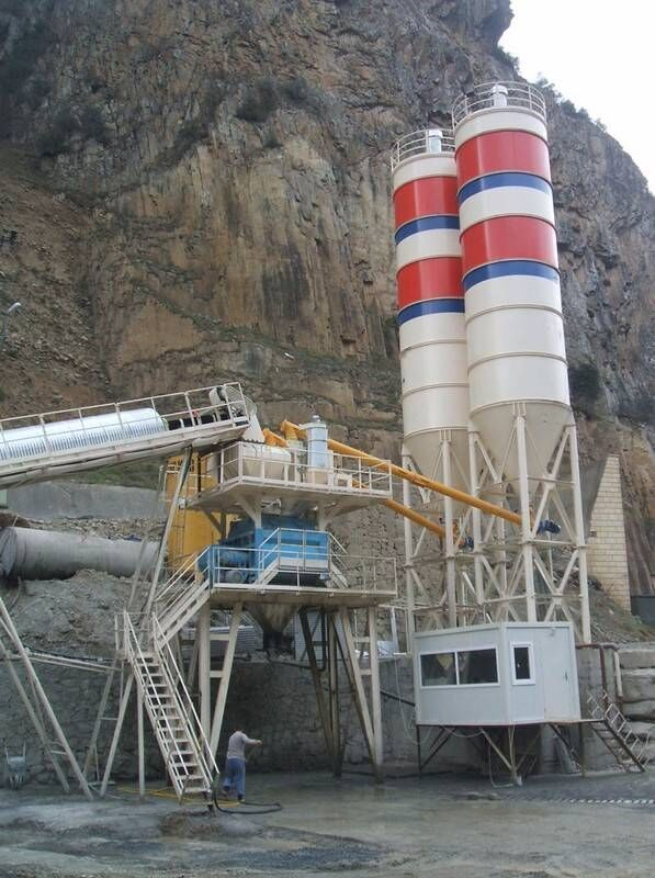 CONSTMACH STATIONARY 60 CONCRETE BATCHING  PLANT CALL NOW! planta de hormigón nueva