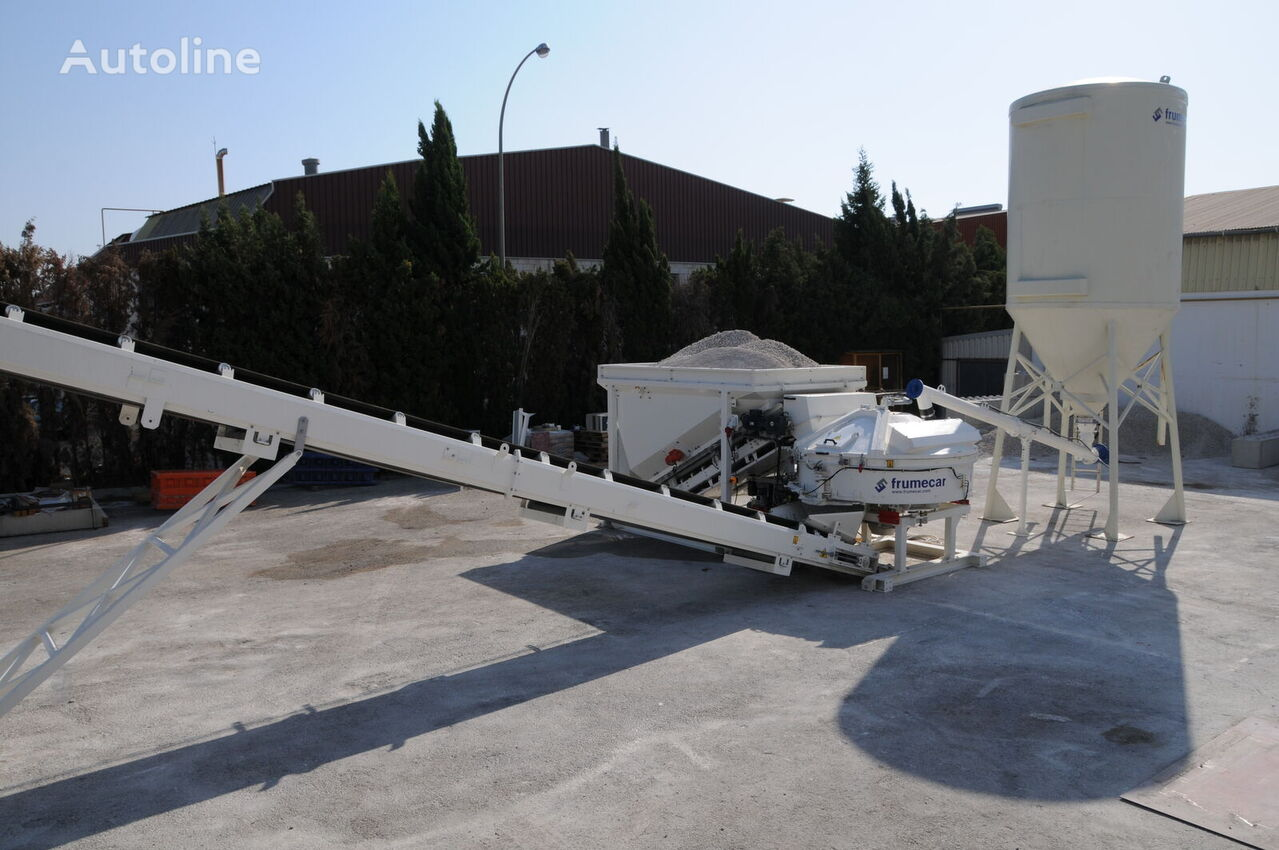 FRUMECAR Fastmix 500 Betontankstelle planta de hormigón nueva