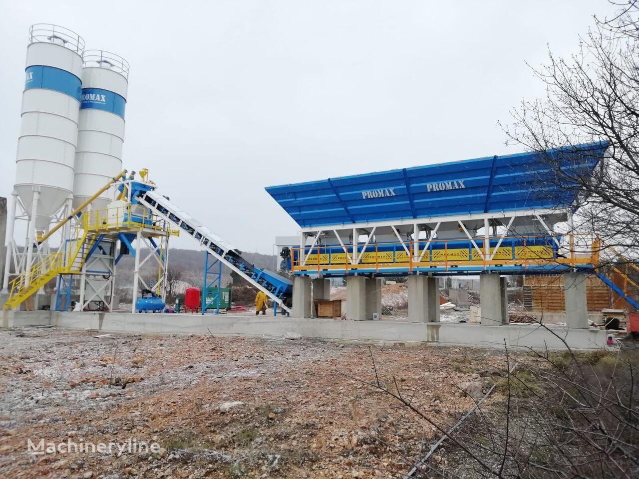 PROMAX Compact Concrete Batching Plant C60-SNG-LINE (60m3/h) planta de hormigón nueva