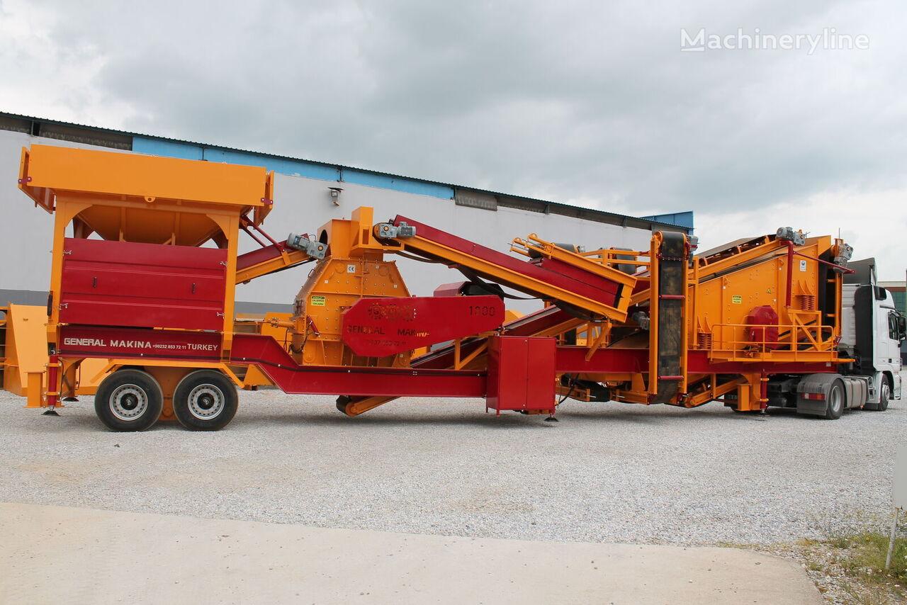 GENERAL MAKİNA GMT130 Mobilnaya Tretichnyy Drobilka (dlya peska) planta trituradora móvil nueva