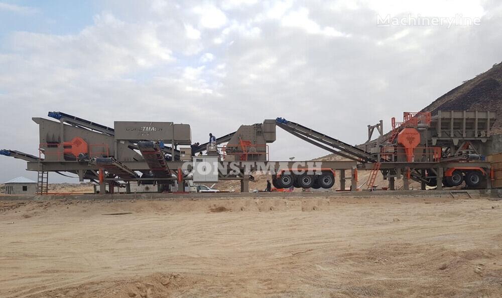 CONSTMACH PREMIUM QUALITY, 250 tph CAPACITY MOBILE CRUSHING PLANT planta trituradora nueva