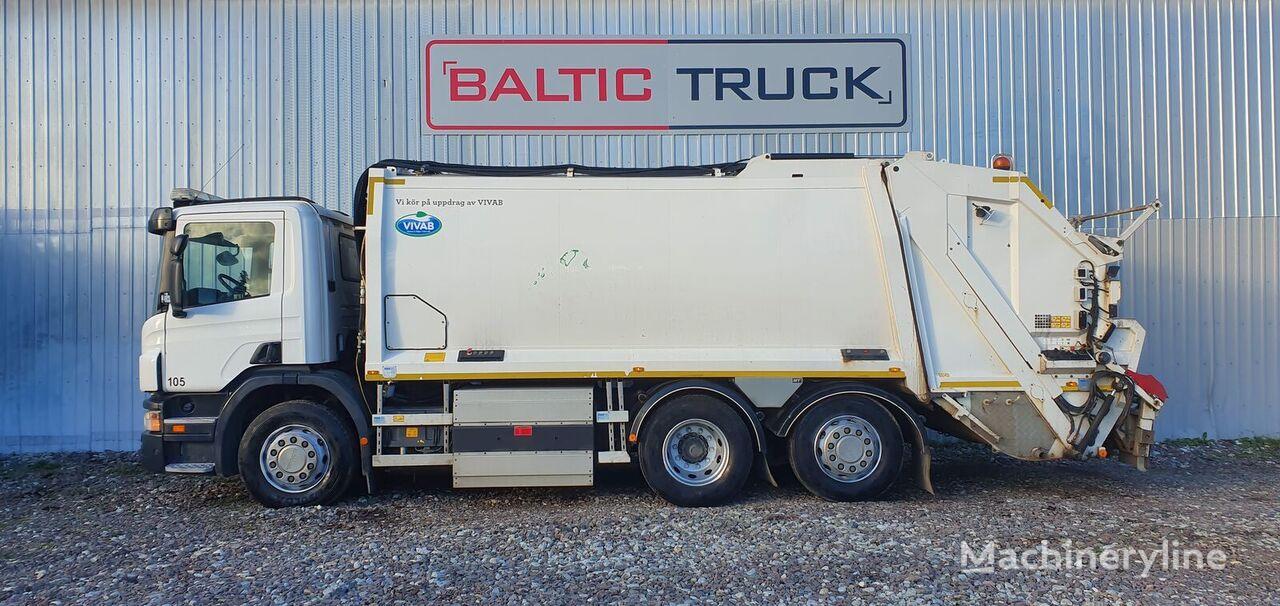 SCANIA P310, 6x2 CNG (2 x CHAMBER) camión de basura