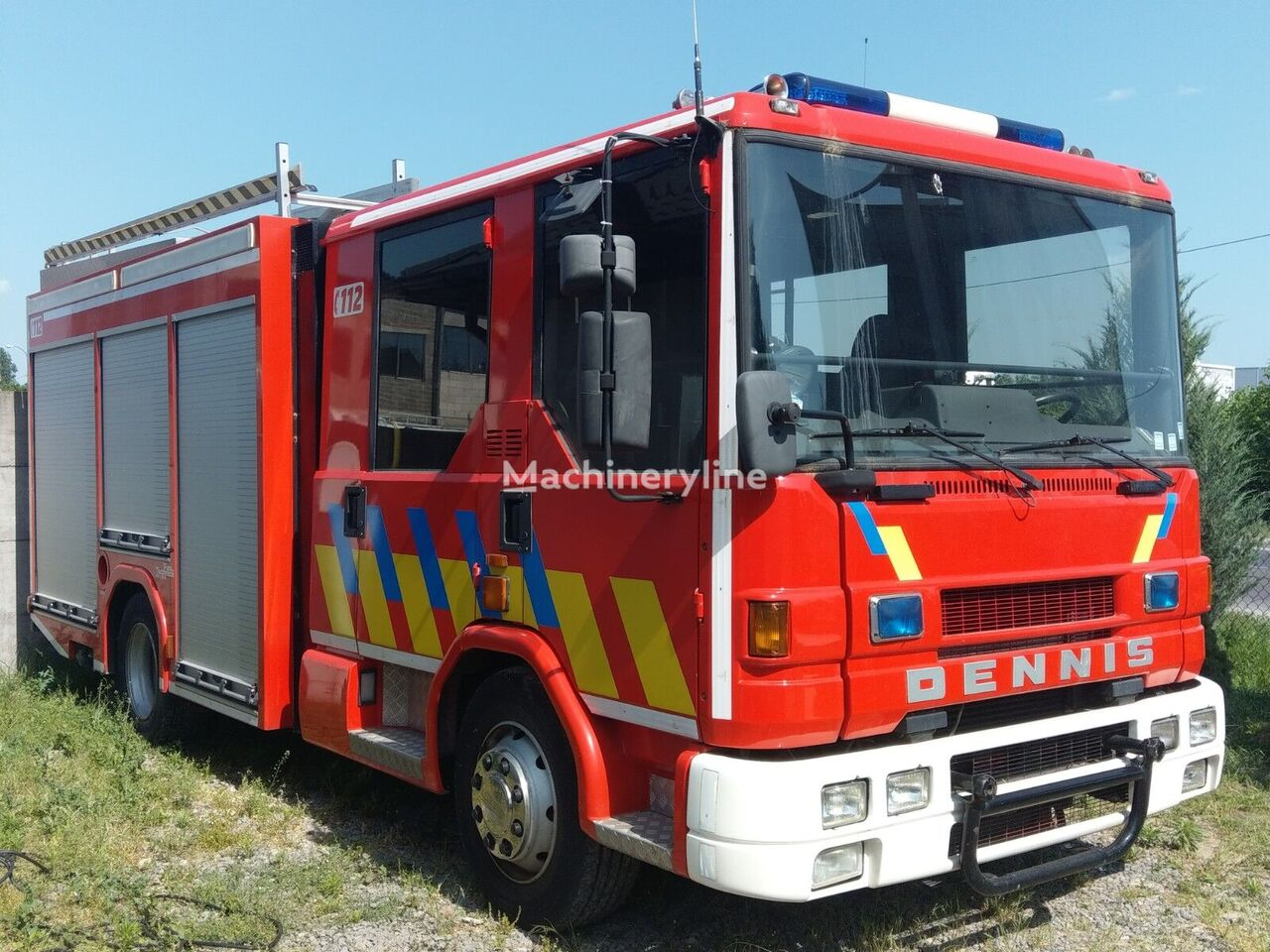 Dennis RAPIER  camión de bomberos