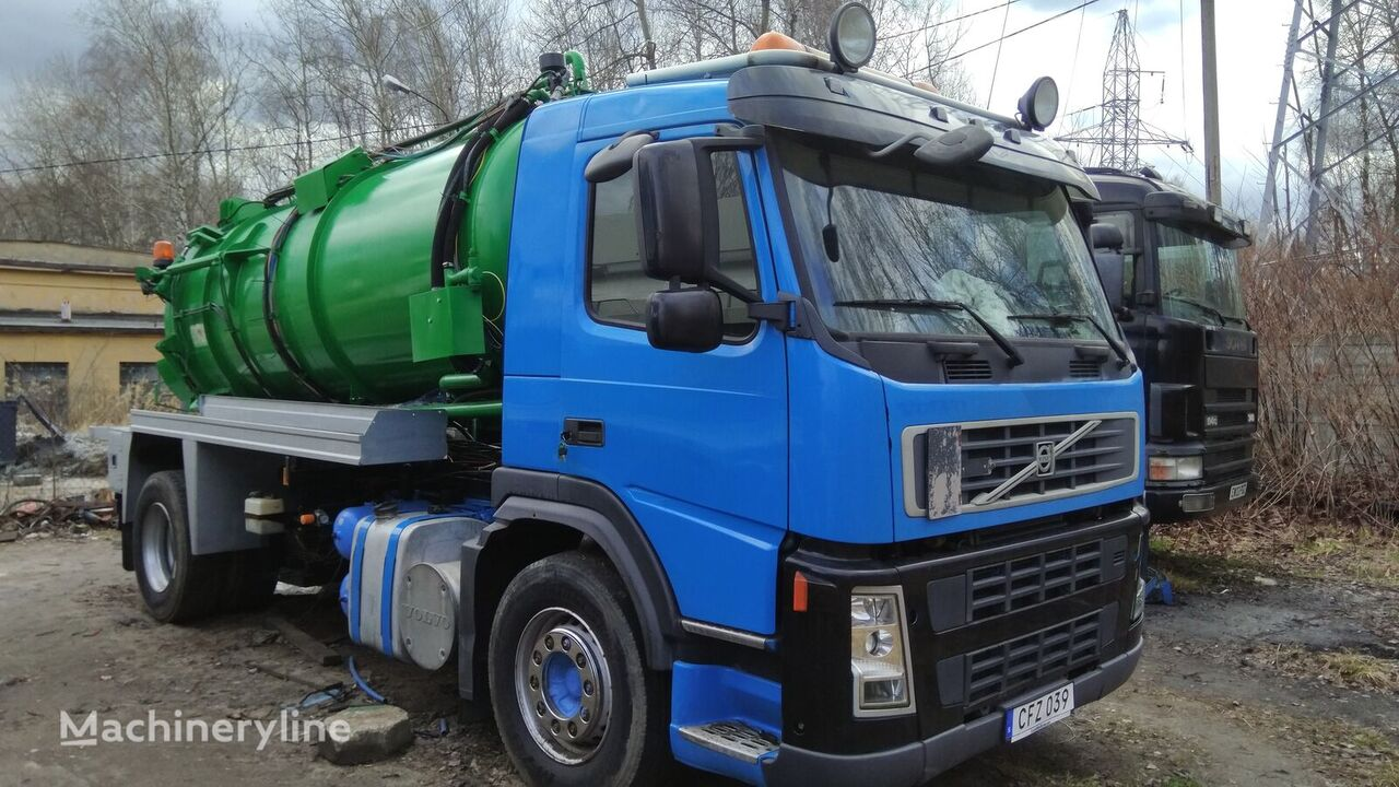 VOLVO fm9.260 combinado para limpieza de alcantarillado