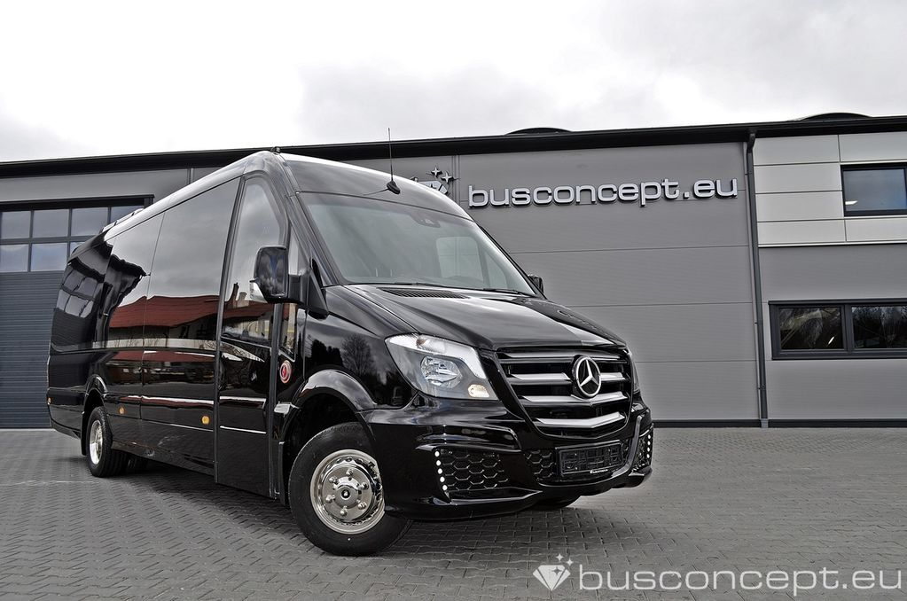 venta de furgoneta de pasajeros mercedes benz sprinter 519 xxl premium 2018 design nueva. Black Bedroom Furniture Sets. Home Design Ideas