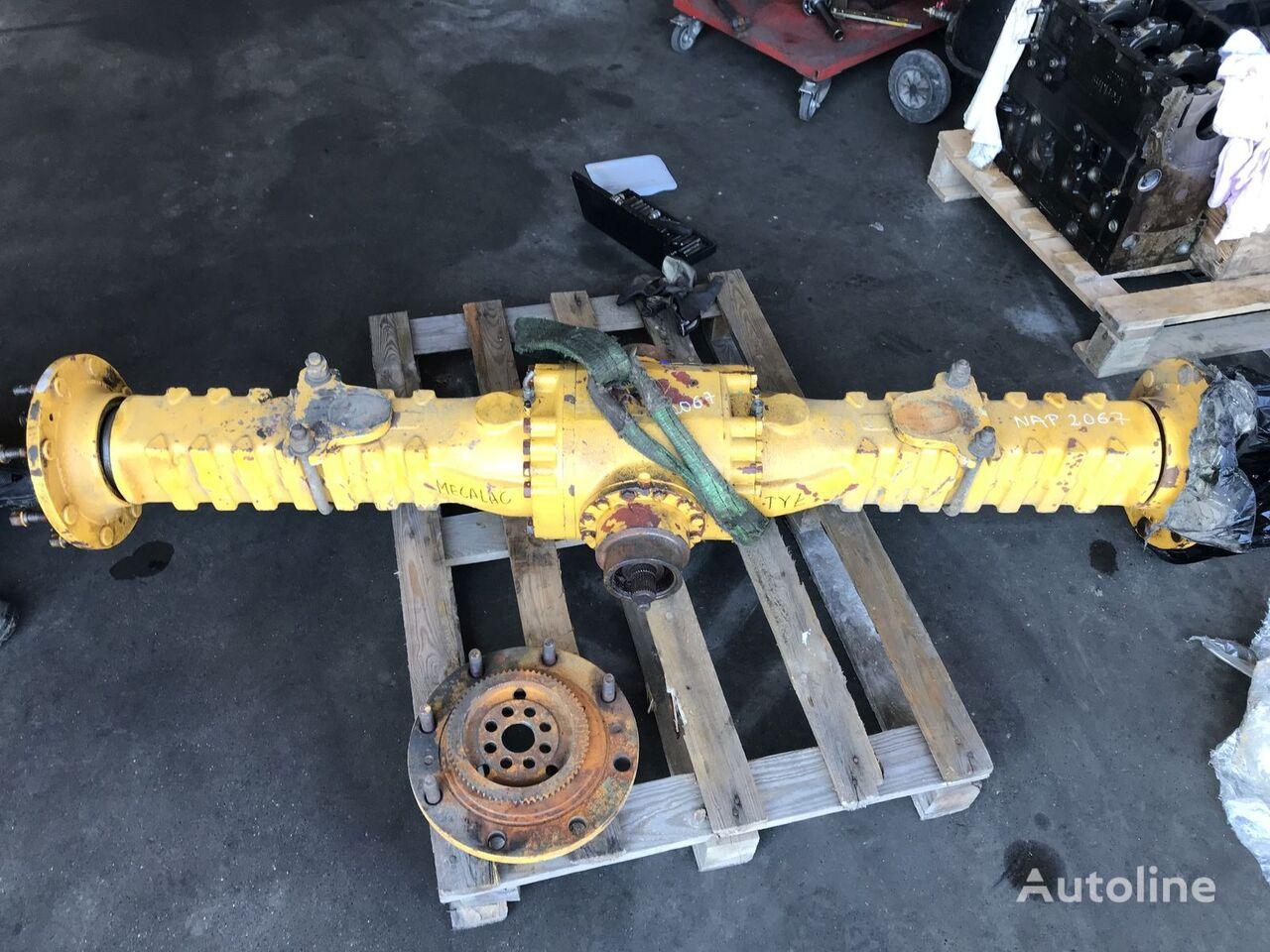 Dana Spicer 311 112 Axle Most Differential Achse eje motriz para MECALAC cargadora de ruedas