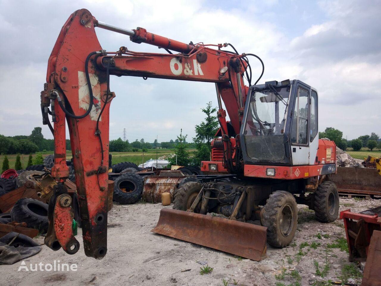 ALL PARTS eje motriz para O&K MH 4 PLUS CITY excavadora