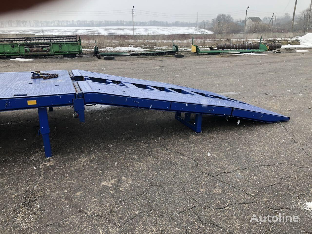 SAMRO S-24 remolque de cama baja