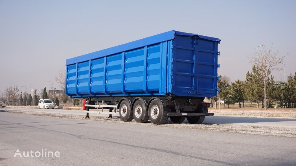 EMIRSAN 2020 NEW SCRAP TIPPER TRAILER 70m³ FROM FACTORY   semirremolque volquete nuevo