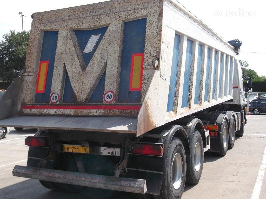 MINERVA S47 PELLICANO semirremolque volquete