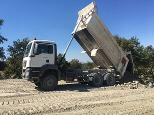 MAN 6X6 SPECIAL 25 UNIT TGS 33.420 2016-2017 YEARS volquete < 3.5t